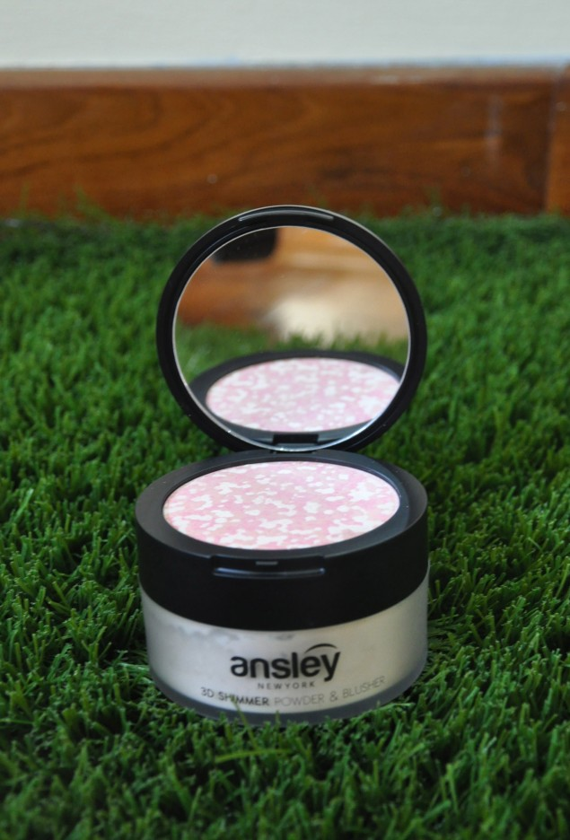 ansley 3D shimmer powder and blusher