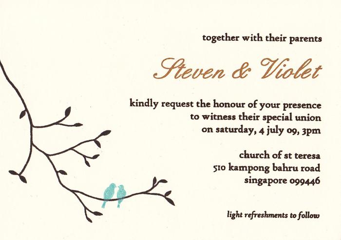handprinted invites