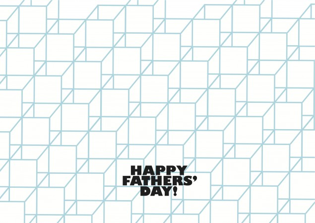 Free Fathers' Day Card Cover Design
