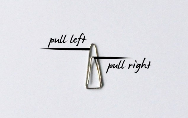how to make a paperclip tutorial step 1