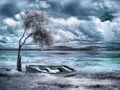 Valium skies infrared photography by naomi frost