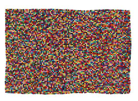 felt pixel rug by anthropologie