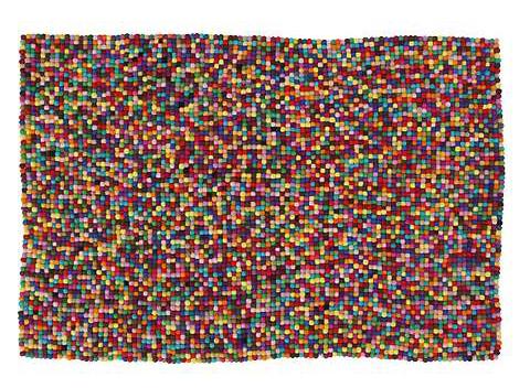 felt pixel rug by anthropologie