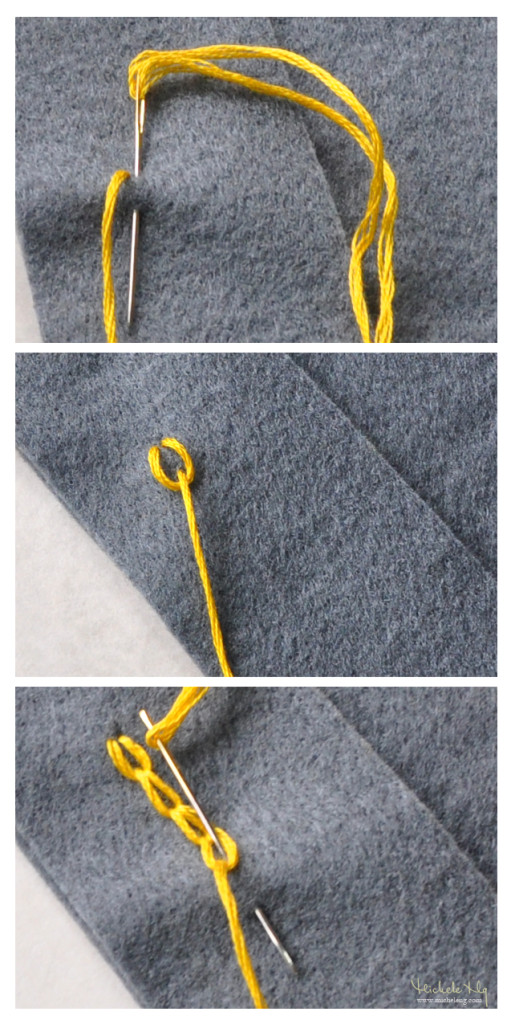 chain stitch tutorial