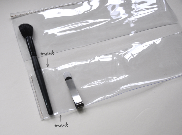 DIY tutorial - PVC makeup brush holder 6