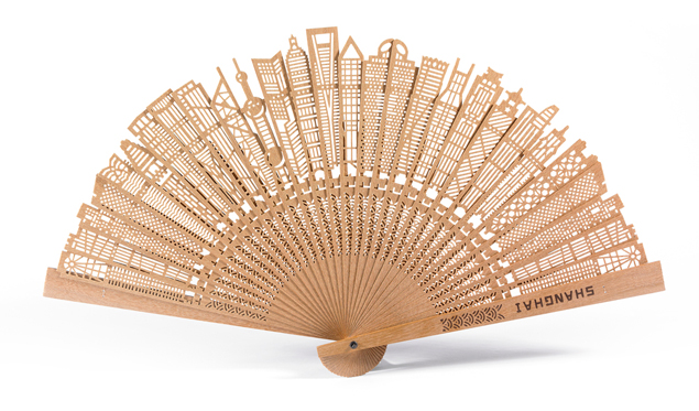 Shanghai breeze fan by Carl Liu at BUNDSHOP
