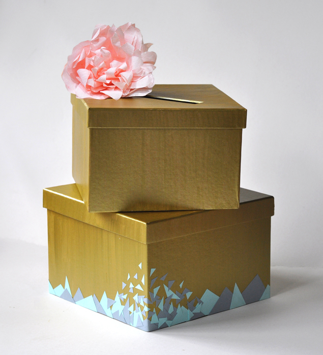 make a wedding card or angbao box | micheleng.com