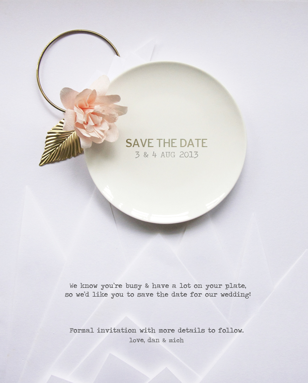 save the date | micheleng.com