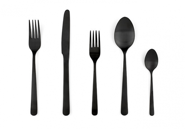 black flatware by design within reach