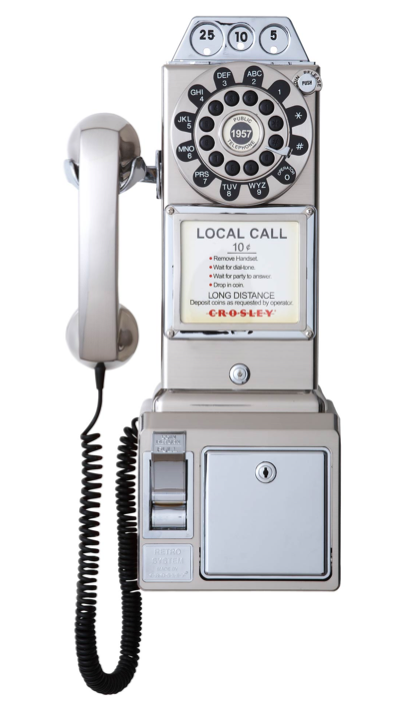 1950s payphone by crosley