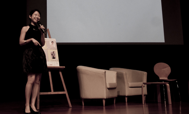 entrepreneurship talk at shell livewire