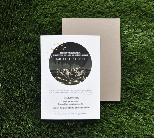 wedding dinner invite | micheleng.com